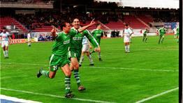 En Santiago a�n escuece el 0-5 encajado en la temporada 2001. FOT�GRAFO: PATRICIA REY