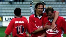 Nando, Pignol y Antonio D�az. FOT�GRAFO: KOPA