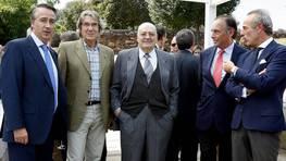 Juan Cancela, Ricardo Vilas, Jos� S�nchez Vilas, Antonio V�zquez-Guill�n y Marcelo Castro-Rial FOT�GRAFO: JOSE MANUEL CASAL