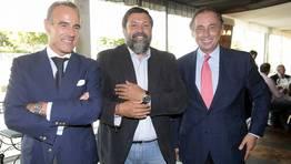 Castro-Rial, Caama�o y V�zquez Guill�n FOT�GRAFO: ANA GARCIA