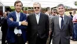 Los tres expresidentes de Sogama, Luis Mingo, Jaime Berm�dez y Jos� Alvarez FOT�GRAFO: JOSE MANUEL CASAL