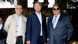 Guillermo Mato, Manuel Varela y Fernando V�zquez FOT�GRAFO: JOSE MANUEL CASAL