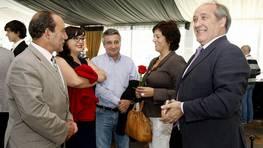 Alonso de L�n, Silvia Fraga, Jos� Antonio Vi�a, Bego�a Rodriguez y Garc�a Li�ares FOT�GRAFO: JOSE MANUEL CASAL