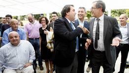 Adolfo Lopez, Carlos Negreira, Manuel Varela, Evencio Ferrero y Xos� Regueira FOT�GRAFO: JOSE MANUEL CASAL