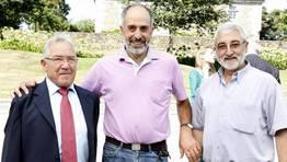 Francisco Costa, Amancio L�pez y Miguel Rodr�guez FOT�GRAFO: JOSE MANUEL CASAL