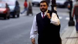 alipio Jose F. Martins, vicepresidente del club en una de sus etapas m�s oscuras (2002). FOT�GRAFO: Oscar V�zquez