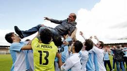 El presidente Antonio Quinteiro comanda un proyecto serio que pretende devolver al equipo «a donde se  merece». FOTÓGRAFO: SANDRA ALONSO