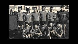 Formaci�n del Ferrol Juvenil de f�tbol, en el campo de San Xoan, en el a�o 1961 FOT�GRAFO: Andr�s Couce Fraga
