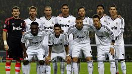 Equipo titular del Real Madrid esta noche. FOT�GRAFO: KEVIN KUREK | EFE