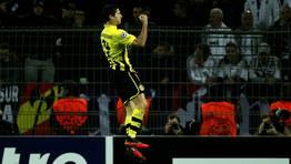 Lewandowski adelant� a los locales tras un error de Pepe. FOT�GRAFO: INA FASSBENDER | REUTERS
