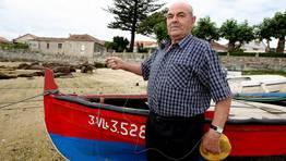 Albino Nieto, pescador de li�a FOT�GRAFO: MARTINA MISER