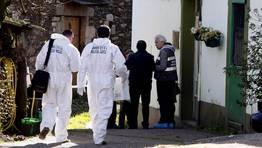 El 21 de febrero, dos encapuchados asesinan a un jubilado y a su hijo en Xermade. También hirieron y dieron por muerta a la esposa y madre de las víctimas. FOTÓGRAFO: OSCAR CELA