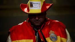 El cowboy más patrio también estaba pendiente del sorteo FOTÓGRAFO: SUSANA VERA | Reuters