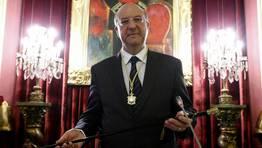 El 10 de octubre, Agustín Fernández Tomó posesión como nuevo alcalde de Ourense. FOTÓGRAFO: MIGUEL VILLAR