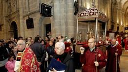 Ceremonia de traslaci�n de los restos del Ap�stol. FOT�GRAFO: SANDRA ALONSO