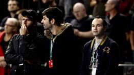 Andrés Iniesta acudió a animar a la selección. FOTÓGRAFO: MARKO DJURICA | Reuters