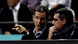 I�aki Urdangarin, exinternacional, acudi� a ver la semifinal al Palau Sant Jordi. FOT�GRAFO: MARKO DJURICA | Reuters