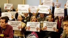Pese a los controles los trabajadores de concesionarias volvieron a estar presentes en el público FOTÓGRAFO: ÓSCAR VÁZQUEZ