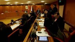 Los portavoces debían decidir esta mañana qué hacer con el pleno de los presupuestos tras dos suspensiones, el lunes y hoy FOTÓGRAFO: ÓSCAR VÁZQUEZ