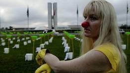 Protesta en Brasil para defender los derechos de las empleadas de limpieza FOT�GRAFO: UESLEI MARCELINO | REUTERS