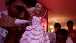 En Taipei (Taiwan) se inaugura ma�ana un restarurante tem�tico de Barbie. FOT�GRAFO: PICHI CHUANG | REUTERS