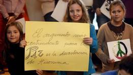 Mensajes por la paz. FOTÓGRAFO: MONICA IRAGO