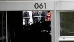 Desde el 061 no se atreven a asegurar si se trata de un acto de sabotaje relacionado con el conflicto laboral que mantienen desde hace meses. FOTÓGRAFO: Cesar Quian