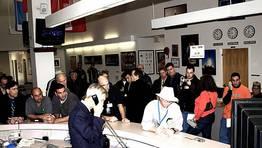Preocupación en la Nasa tras las primeras informaciones sobre el accidente. FOTÓGRAFO: NASA