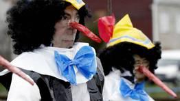 Jueves de compadres en Monforte de lemos FOT�GRAFO: ALBERTO L�PEZ