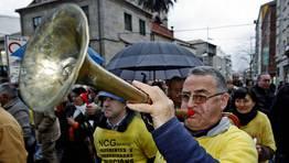 Manifestaci�n de afectados por las preferentes FOT�GRAFO: CAPOTILLO