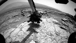 EL Curiosity sigue trabajando sobre la superficie de Marte FOT�GRAFO: NASA