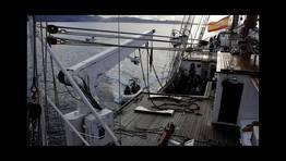 Ejercicio de manejo de embarcaciones auxiliares FOTÓGRAFO: Armada