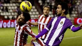 Valladolid y Athletic de Bilbao igualaron 2-2. FOTÓGRAFO: R. García | Efe