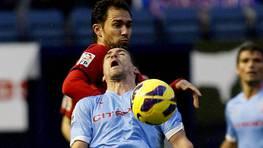 El Celta cayó en campo de Osasuna (1-0). FOTÓGRAFO: LOF