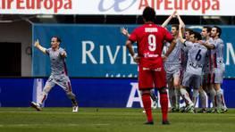 Mallorca y Osasuna firmaron un empate a unos en su partido en Son Moix. FOT�GRAFO: Montserrtal T Diez | Efe