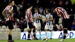 El Espanyol gole� en campo del Athletic de Bilbao (0-4). FOT�GRAFO: Alfredo Aldai | Efe