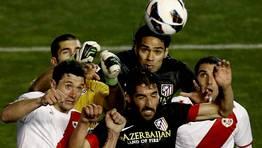 El Rayo Vallecano se impuso 2-1 al Atl�tico de Madrid. FOT�GRAFO: JuanJo Mart�n | Efe