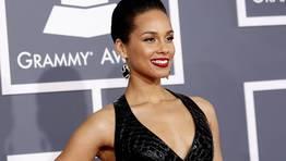 Alicia Keys se decant� por el negro. FOT�GRAFO: MARIO ANZUONI | REUTERS