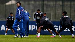 Paci�ncia apost� por un perfil m�s defensivo que el de su predecesor, Jos� Luis Oltra. FOT�GRAFO: M. MARRAS