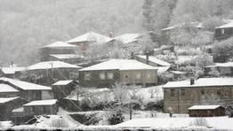 Paisaje invernal de Lugo FOT�GRAFO: PRADERO