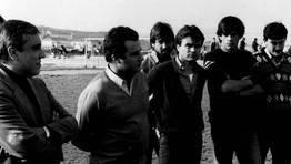 Luis Rodr�guez Vaz, en el centro. FOT�GRAFO: BLANCO