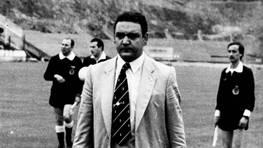 Lamelo, primero jugador y despu�s entrenador del D�por. FOT�GRAFO: BLANCO