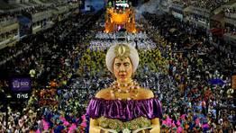 La escuela de samba Portela, durante su desfile en R�o de Janeiro. FOT�GRAFO: Antonio Lacerda | Efe