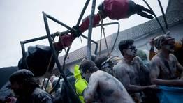 Con la Baixada da Morena llegaron la harina y las hormigas embravecidas FOT�GRAFO: Pablo Araujo