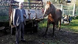 Antonio Mart�nez es conocido con el nombre de To�ito da brochela, capador FOT�GRAFO: MONICA IRAGO
