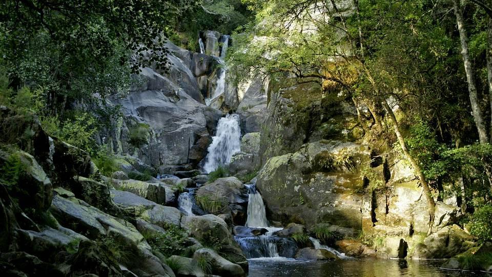 Fervenza del río Bergantiño (Ourense)