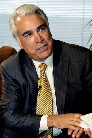Antonio M. P�rez, en una visita a las instalaciones de La Voz de Galicia GONZALO BARRAL