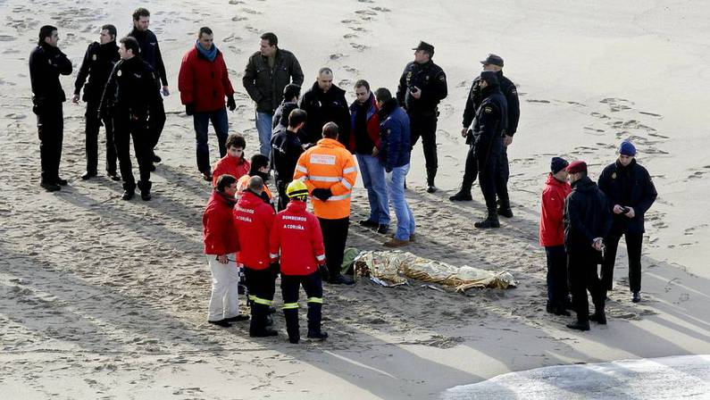 El cad�ver de Rodrigo Maseda fue hallado en la misma playa donde desapareci�. GUSTAVO RIVAS