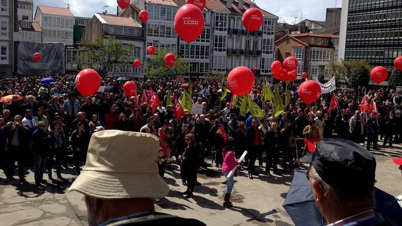 real rubia desprotegido cerca de La Coruña
