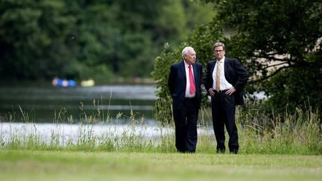 Margallo, con el ministro de Exteriores alem�n, Westerwelle Maurizio Gambarini | Efe